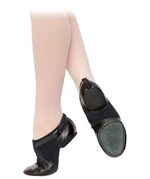 Jazz low shoes can be used for rehearsing and performance in any type of dance floor.