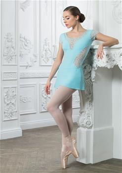 Amazing leotard made of breathable polyamide micro