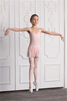 Delicate leotard made of polyamide micro
