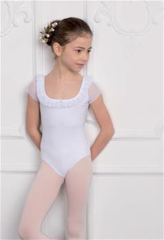 DAD-1708M Leotard with mesh inserts
