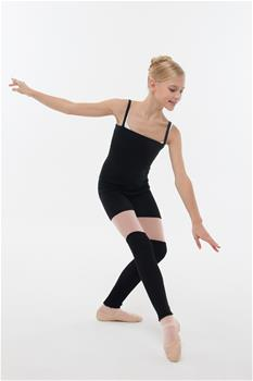 Cozy camisole unitard for warming-up