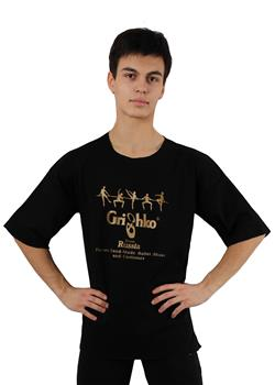 Stylish cotton T-shirt with a Grishko logo