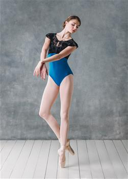 Stunning leotard with bolero