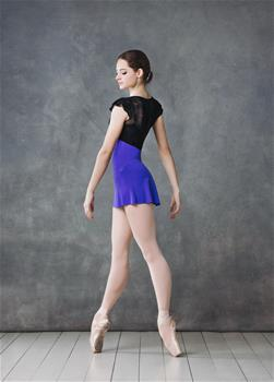 Graceful leotard with bolero