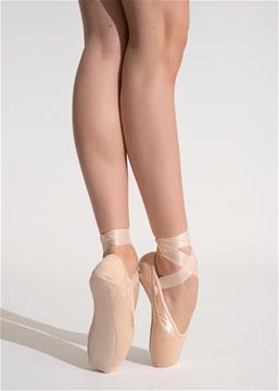 Pink Satin ballet shoe elastic 50 meter roll